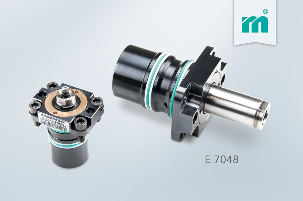 NEW from Meusburger: E 7048 Build-in cylinder with flange