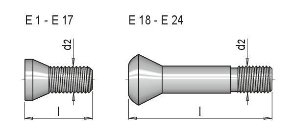 Häufig Torx®-Schraube für Wendeplatte Zubehör Wendeschneidplatten WZE 100 EC68