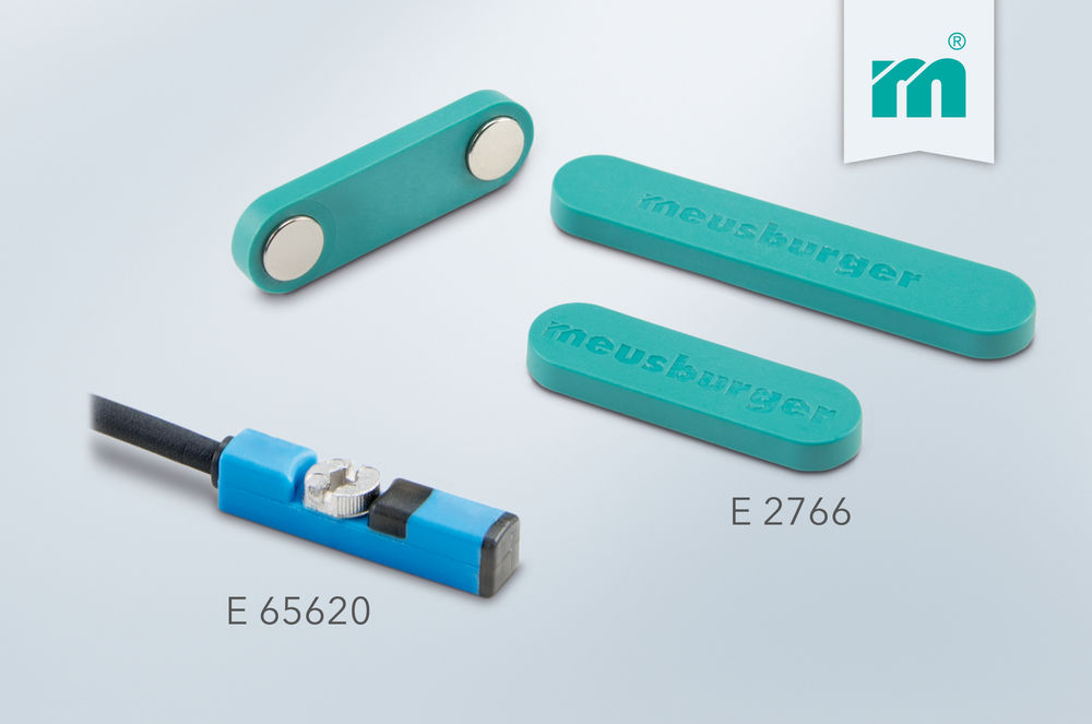NEW from Meusburger: magnetic proximity sensor and magnetic cable retainer