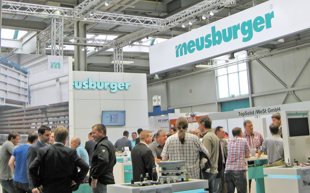 Meusburger sets standards at the wfb