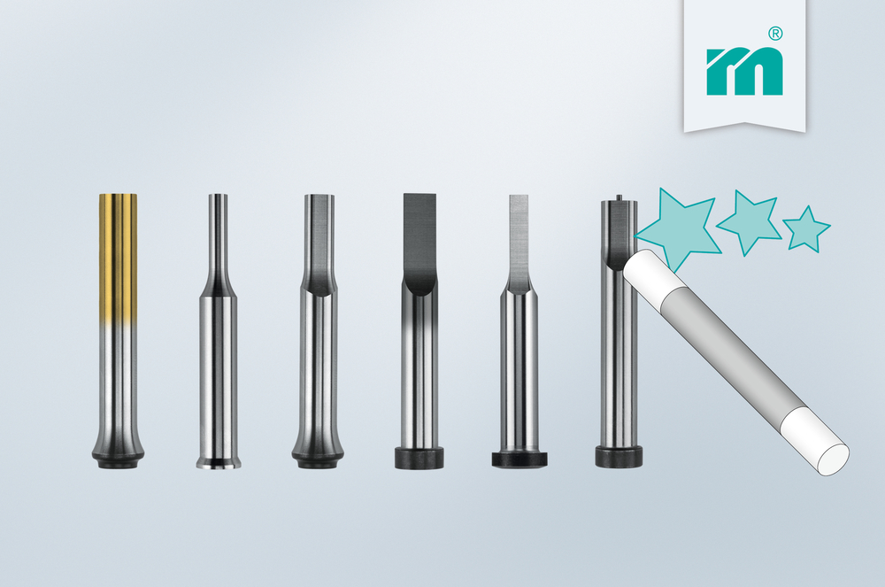 New configuration options for Meusburger cutting punches