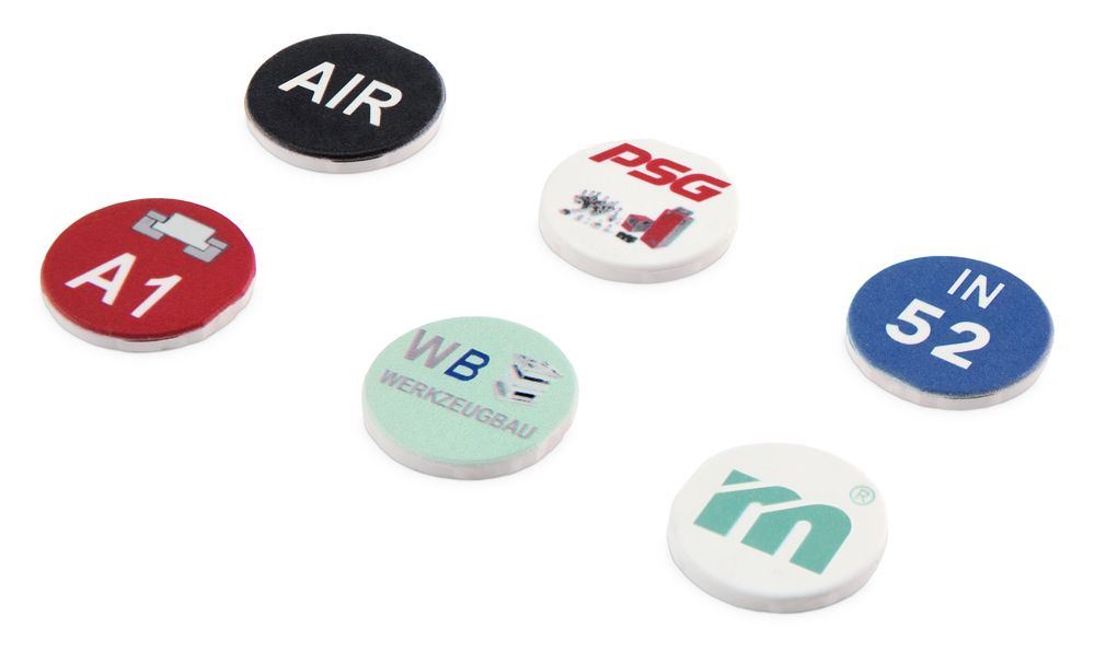 E 2030S Customized printed marking chips