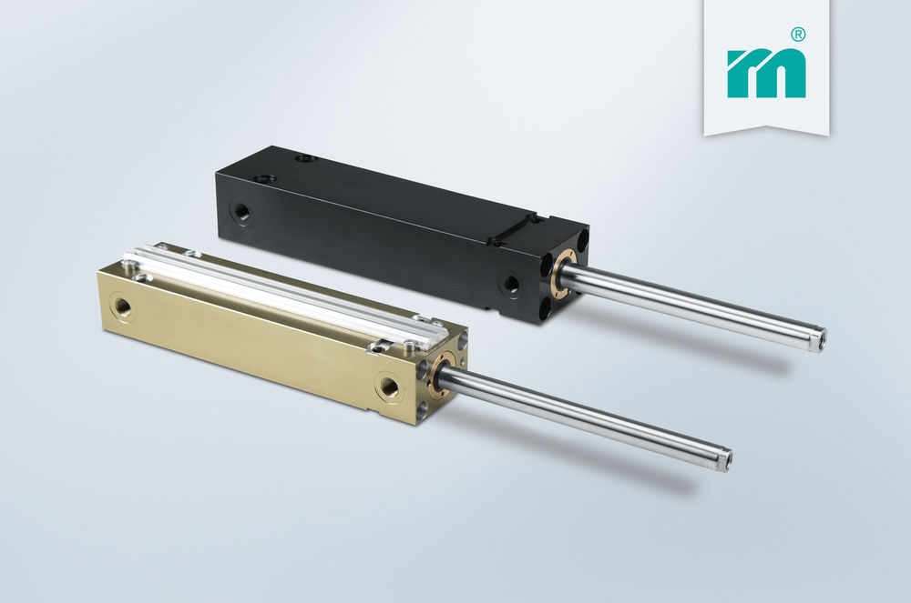 Meusburger hydraulic cylinders now with stroke of up to 200 mm