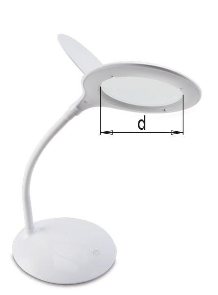 Lampe loupe de bureau LED Lampes BAL 2150 Meusburger