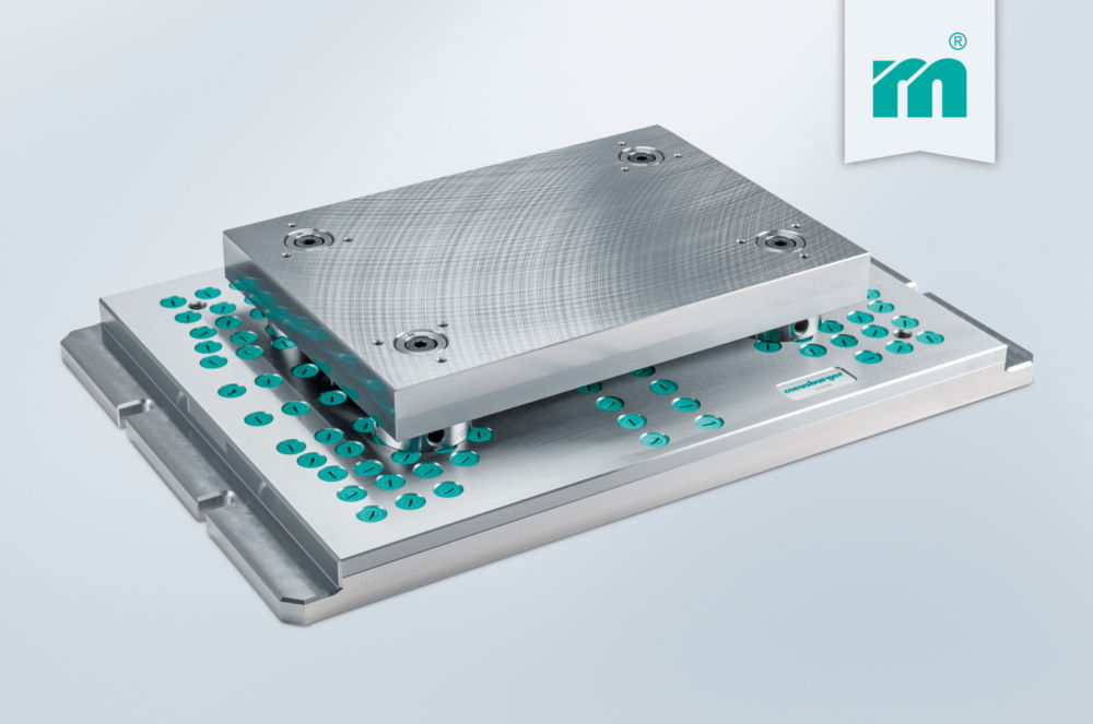 H 3000 - The innovative clamping system for die making