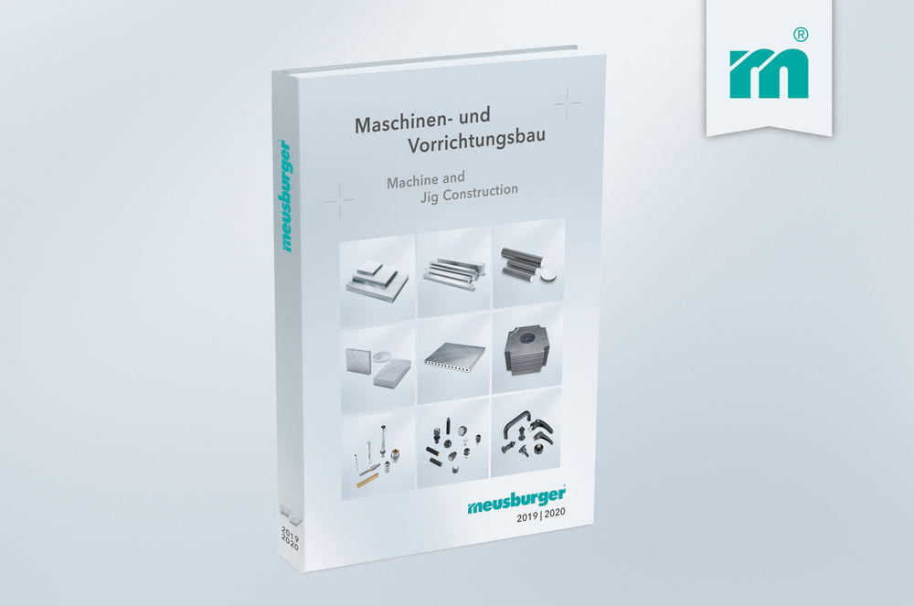 New catalogue for machine and jig construction