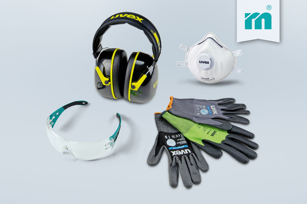 Safety first! New product group 'Protective equipment' at Meusburger