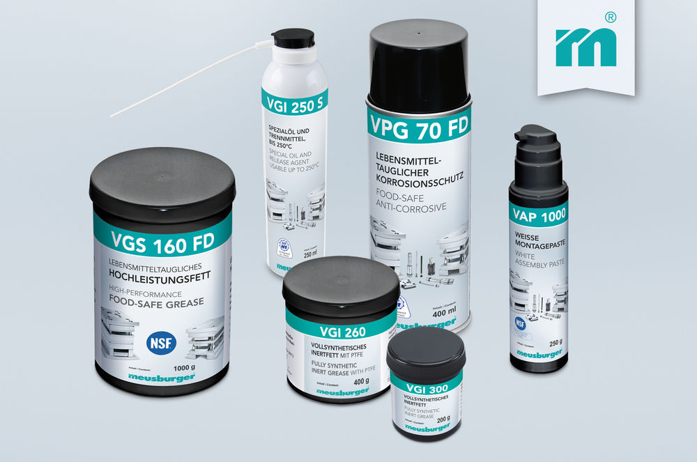 Meusburger launches new consumables for the food processing industry
