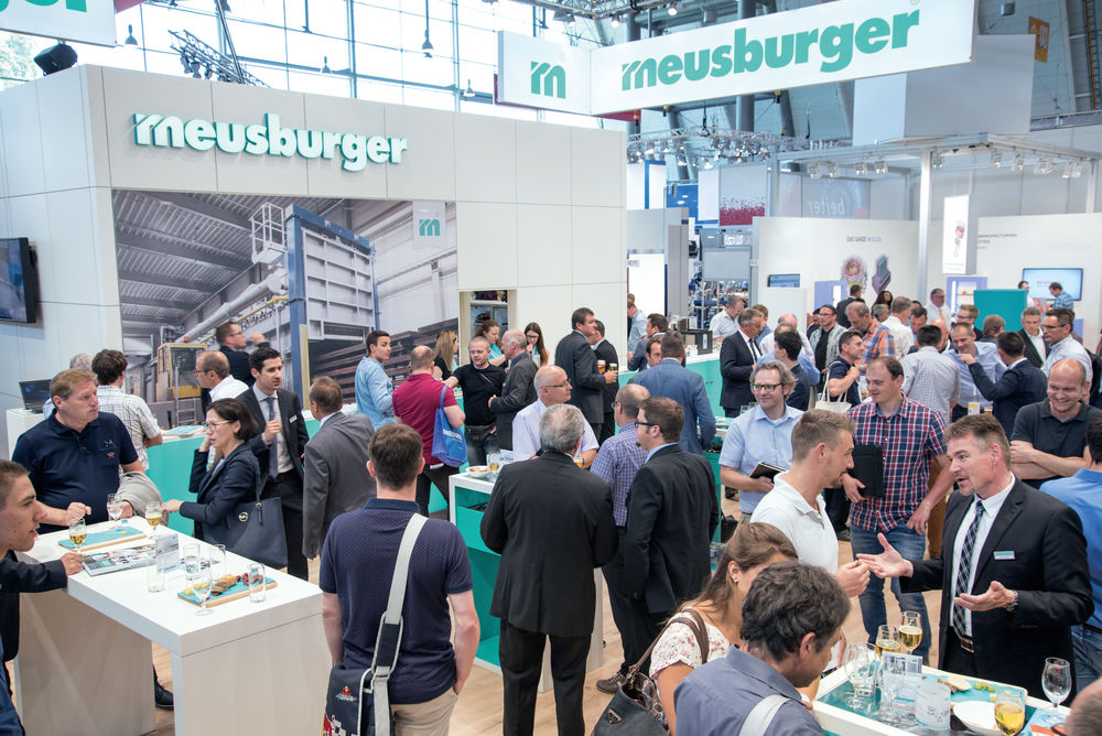 Meusburger highlights at the Blechexpo trade fair